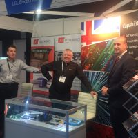 The team on stand Z60 at EDS